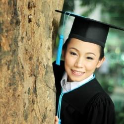 Au Chanidapha Graduation Day