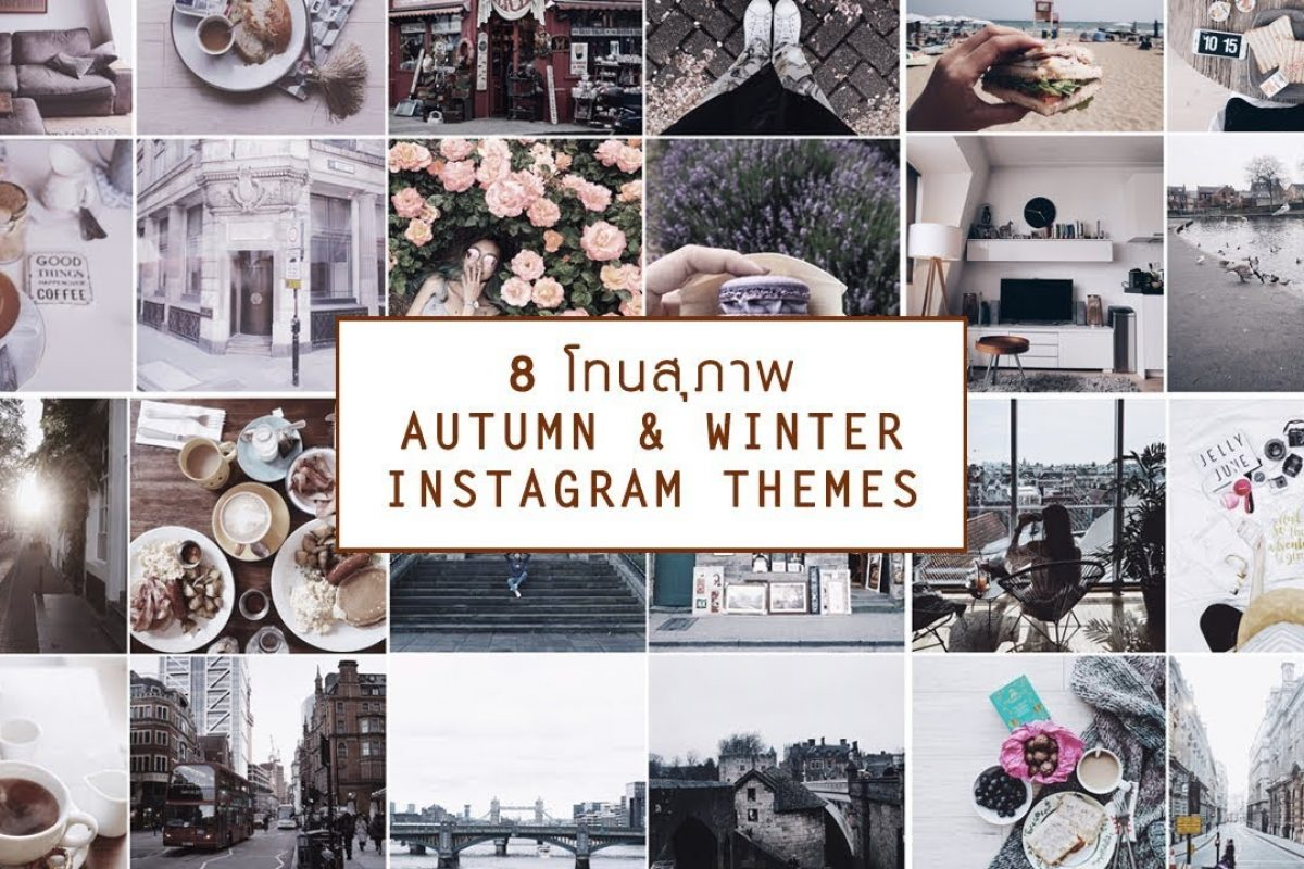 8 IG Autumn & Winter Themes